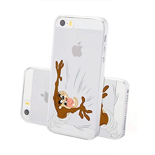 Custodia rigida looney tunes taz serie 2 iPhone - TAZ Aggressivo, Iphone 5/5S TAZ Attack LOGO