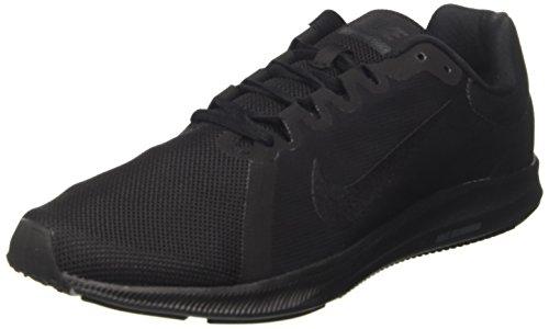 Nike Herren Downshifter 8 Laufschuhe, Schwarz (Black/Black 002), 44 EU