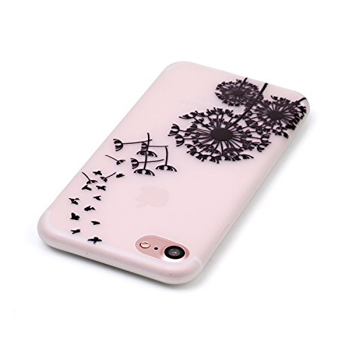 inShang iPhone 7 Plus Custodia 5.5 inch [Trasparente cover iPhone] [luminoso nel buio], comoda Cover posteriore di case di stile di protezione + inShang Logo pennino di alta classe 09