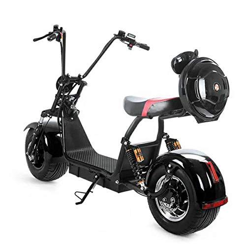 OOBY Harley Coche Eléctrico Pedal Adulto Bicicleta Litio Scooter Bicicleta Eléctrica - Batería Desmontable.