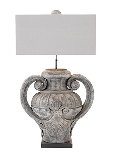 Casa Padrino Luxury Table Light Zinc Grey - Luxury...