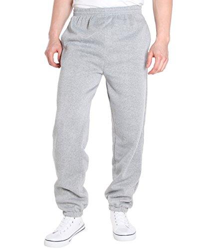 KRISP Survêtement Pantalon Jogging Doublé Polaire Casual Sport Pas Cher Grande Taille Hiver Chaud, Gris (7829), XXXL, 7829-GRY-XXXL