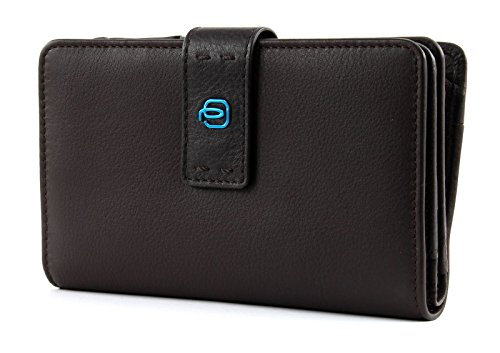 PIQUADRO Pulse Women's Wallet Horizontal Cioccolata