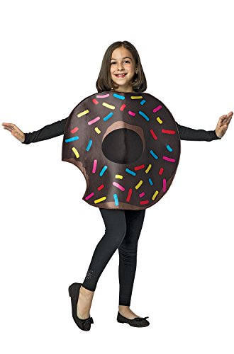 Chocolate Donut w/ Bite Child Costume (Donut Kostüm Kinder)