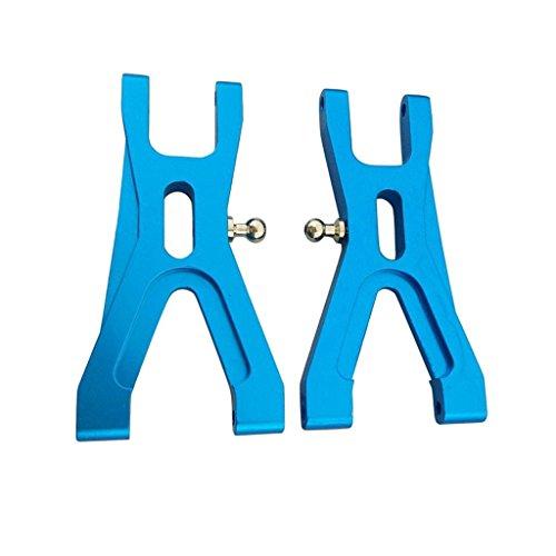 B Baosity 2tlg. Blau Querlenkerlager Lenkung Vorn Hinten für 1/18 Wltoys RC Auto