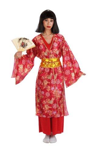 César - Disfraz de geisha japonesa para mujer (adulto), talla única