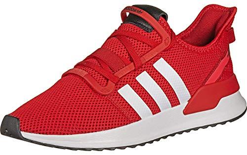 adidas Herren U_Path Run Gymnastikschuhe, Rot Scarlet/FTWR White/Shock Red, 43 1/3 EU (Adidas Schuhe Rot)