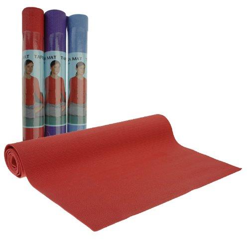 Yoga - Pilates - Esterilla de gimnasia - Medidas:aprox. 170x60cm - grosor 3 mm - ideal para deporte y meditación.
