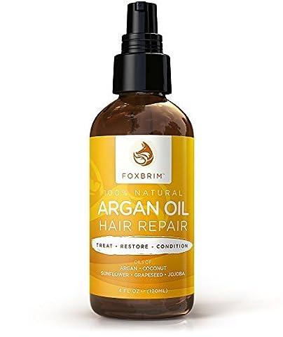 Foxbrim Arganöl Haar-Repair - 100% Natürlich –Ölaufbereitung zur Haarbehandlung -