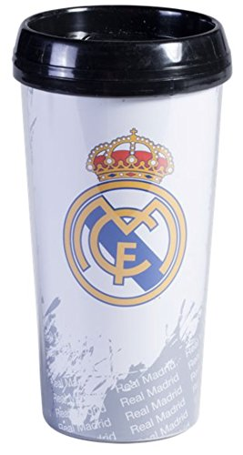 Real Madrid FC Travel Mug Official Product by Football Sources Inc.