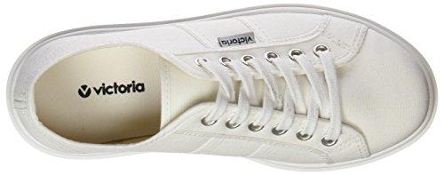Victoria 1260110, Scarpe da Ginnastica Alte Donna Bianco (Blanco)
