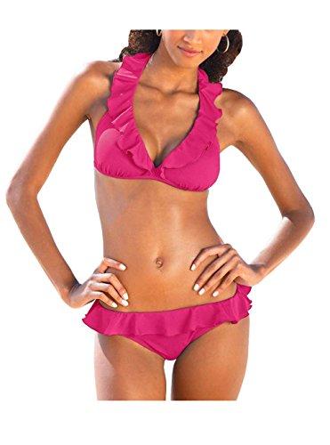 Jette Joop Triangel-Bikini A/B-Cup Pink Größe 40