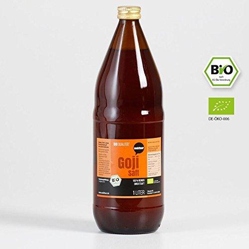 1 Saft (Wohltuer Goji Saft - Bio - 1l Flasche)