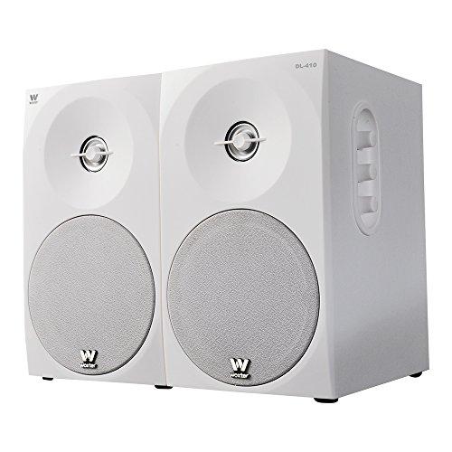 Woxter Dynamic Line 410 White – Altavoces estéreo 2.0 (Autoamplificados con 150W...