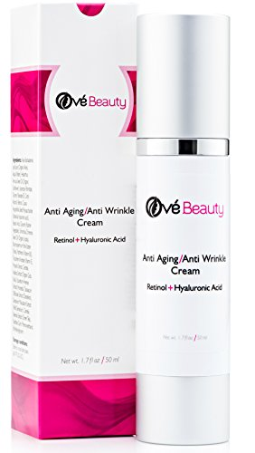 Retinol Face Cream With Both Retinol And Hyaluronic Acid! Best Anti Aging Moisturizer