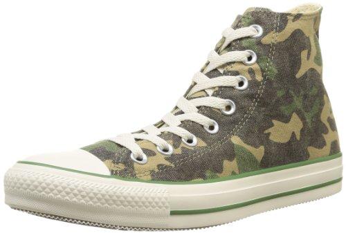 Converse Ctas Union Jack 135504C, Sneaker Unisex adulto Green/Chocolate CM