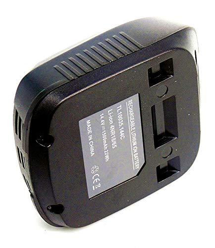 FengBP® ️ Batería de repuesto de 14,4 V 1,5 Ah 1500 mAh 2607336037  2607336038 2607336194 2607336205 2607336147 para Bosch PSR 14 4 LI-2 / PSR  14 4