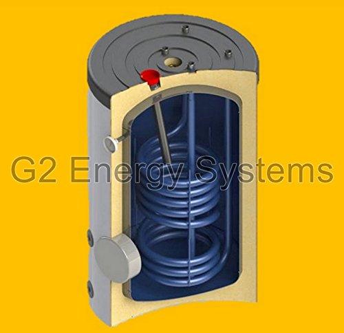 150 160 L Liter Warmwasserspeicher Boiler 1 Wärmetauscher Anschlüsse oben