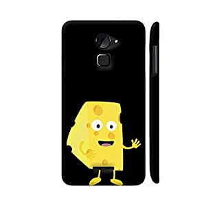 Colorpur Coolpad Note 3 Lite Cover - Cheese Guy Printed Back Case