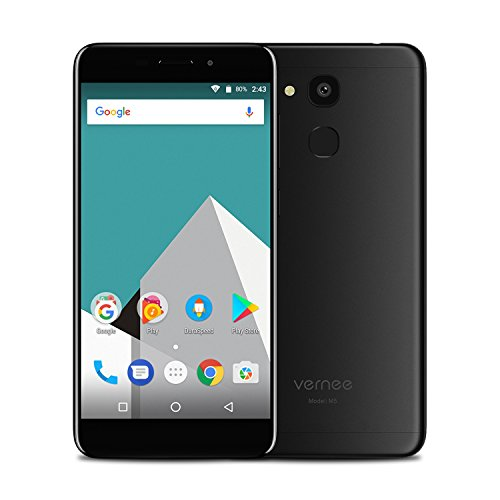4G Unlocked Phone,Vernee Smartphone 4GB RAM + 64GB ROM + 5.2 inch HD Screen + Android 7.0 + MTK6750 + Octa-core 1.5GHz + 13.0MP+8.0MP Camera + 3300mAh Battery