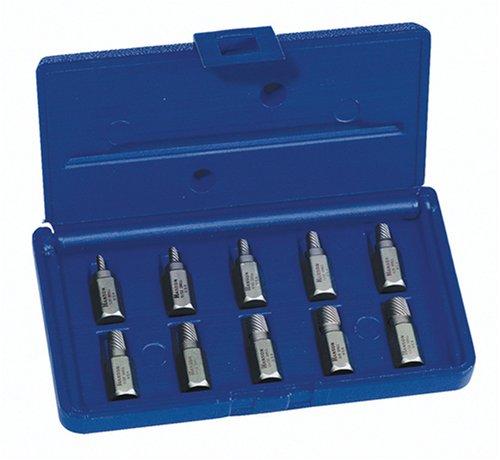 Irwin 5322610Stück 1/8Zoll auf 13/32Hex Head multi-spline Schraube und Gewindeausdreh-Sortiment in Kunststoff Fall (10 32 Hex-schrauben)