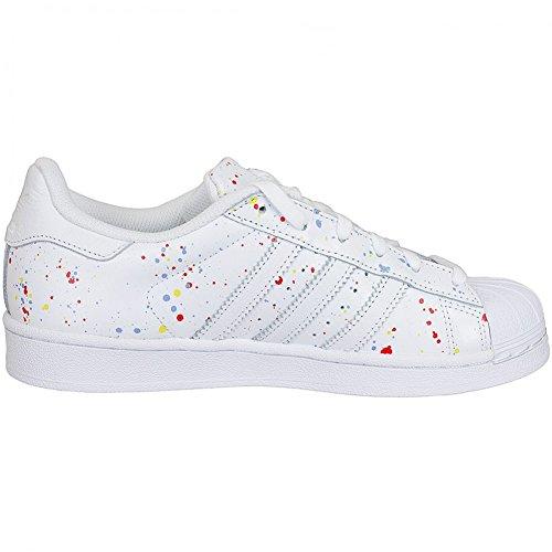 Unbekannt, Sneaker donna Bianco bianco 40 Bianco