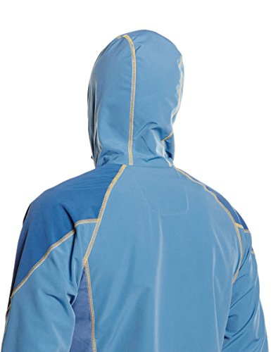 Columbia Herren Softshelljacke Sweet AS II Hoodie Blau