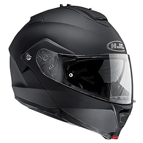 IM2MBL - HJC IS-MAX II Flip Front Motorcycle Helmet L Matt Black