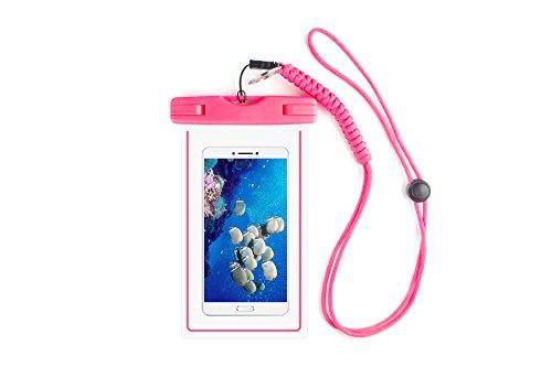 Magicmoon Waterproof Case / Custodia Impermeabile Dry Bag Pouch Cell Phone Con militare per cinghia (Nuovo D & G Degli Occhiali)