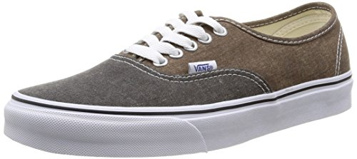 Vans U Authentic, Unisex-Erwachsene High-Top Sneaker Mehrfarbig (Black/Desert Palm)