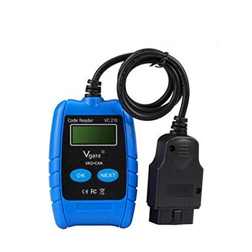 YONGYAO Vag Auto Scanner Vc210 Obd2 Obdii Eobd Can Code Reader Diagnose-Tool Für Vw Audi (Reader Motor-code Volkswagen)