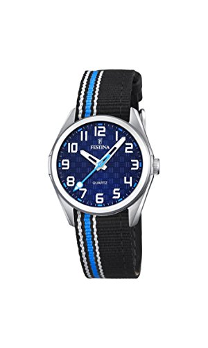 Festina Unisex-Child Quartz Watch, Analogue Classic Display and Textile Strap F16904/2
