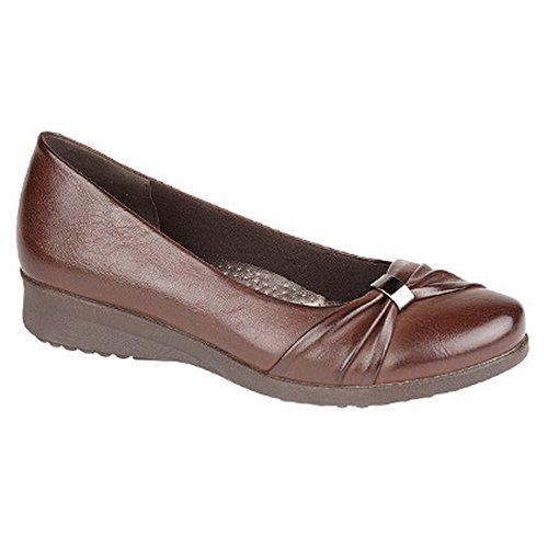 Boulevard - Chaussures à semelle compensée - Femme Marron