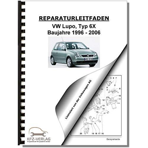 VW Lupo, Typ 6X (96-06) Direkteinspritz- und Vorglühanlage m. Pumpe-Düse-Einheit - Einheit Betriebsanleitung