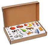 Betzold 82177 - Zählen und Rechnen mit Bildern im Karton - Magnetbilder, Mathematik, 196-teilig