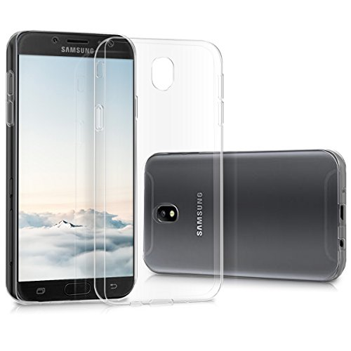 kwmobile Samsung Galaxy J7 (2017) DUOS Hülle - Handyhülle für Samsung Galaxy J7 (2017) DUOS - Handy Case in Transparent