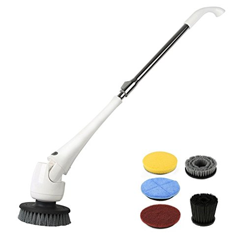 cordless power cleaning scrubber set