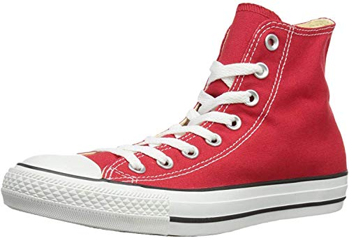 Converse Chuck Taylor All Star, Unisex-Erwachsene Hohe Sneakers, Rot (Red), 36.5 EU