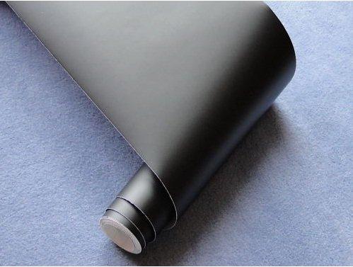 Preisvergleich Produktbild Viperstreifen Auto Folie Oracal SCHWARZ matt 20 x 400cm