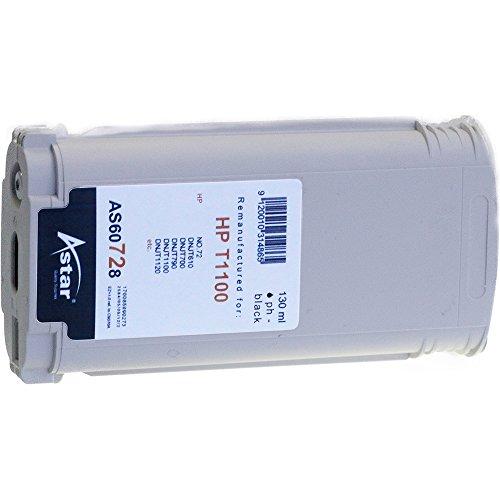 Preisvergleich Produktbild Astar AS60728 Tintenpatrone kompatibel zu HP NO72 C9370A, 130 ml, schwarz