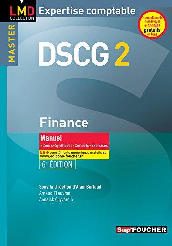 DSCG 2 - Finance Manuel 6e édition par