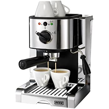 BEEM  D2000.626 Espresso Perfect Crema Plus Chrome Style, Espresso Maschine