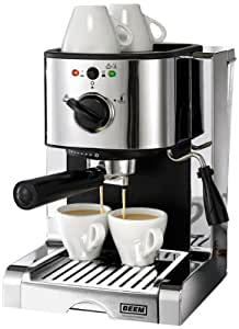 BEEM Germany   D2000.626 Espresso Perfect Crema Plus Chrome Style, Espresso Maschine