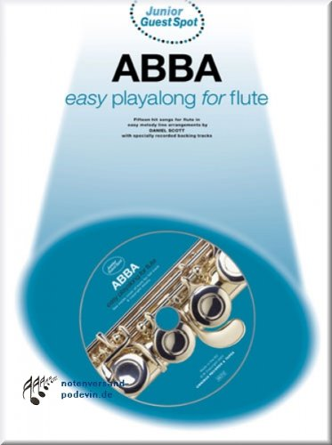 ABBA Easy Playalong for Flute - Flöte Noten [Musiknoten]