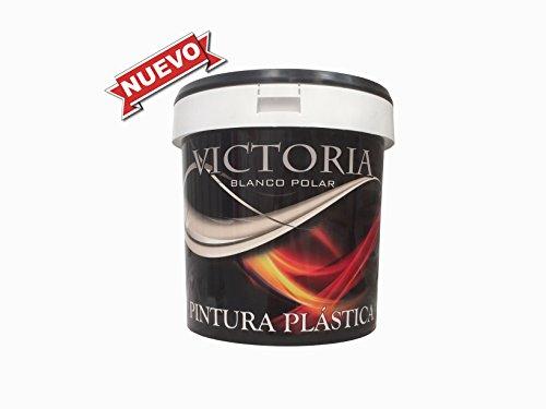 Pintura plastica mate económica interior / exterior ideal para decorar paredes, techos, cocinas, dormitorios... VICTORIA (14 L) Envío GRATIS 24 h.