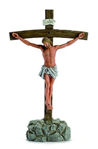 Nadal Figura Decorativa Cristo, Resina, 8.00x22.50x37.50 cm