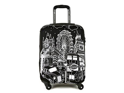 Salvador Bachiller - Funda De Maleta Universal London Compl Viaj Lg1601 Negro L