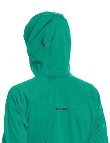 Mammut Damen Kapuzenjacke Ultimate Hoody Emerald-Black