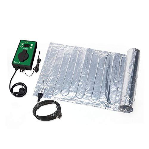 Biogreen HMTA060-200/GB Heizmatte aus Aluminium inkl. Thermostat