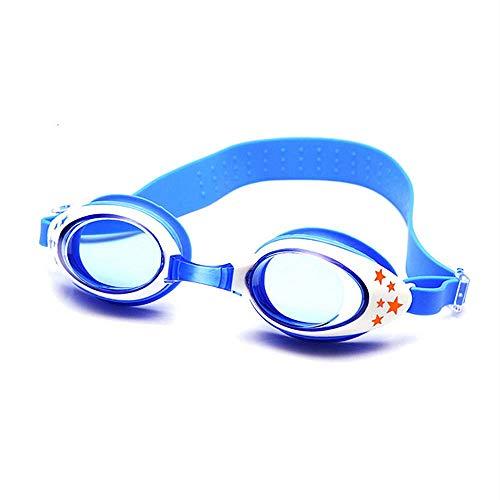Yibaision Kinder Schwimmbrille Unisex Training Freizeit Schwimmbrille Schwimmbrille für Jungen Mädchen (UV-Schutz, Anti-Fog, Harte Gläser)